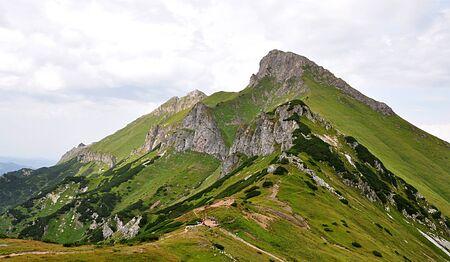 panoramic view, mountain Belianske Tatras, Slovakia, Europe