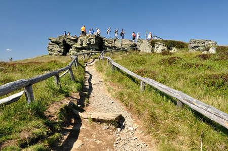 rock and mountain, Jeseniky, Czech republic, Europe