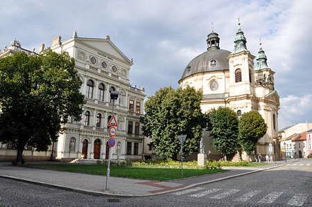 city Kromeriz, Czech republic, Europe