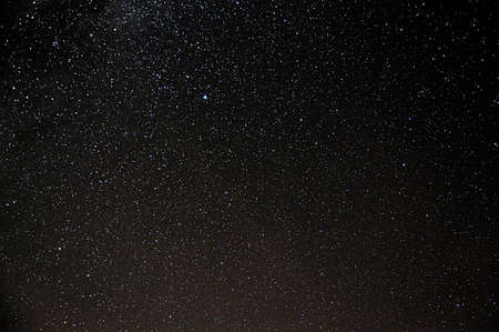 night starry sky and stars