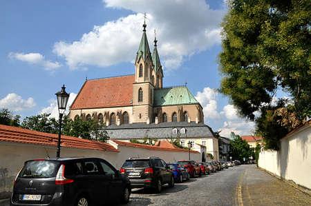 city and church, Kromeriz , Czech republic, Europe
