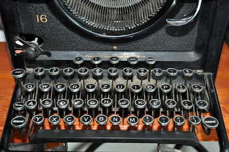 old manual typewriter Standard-Bild