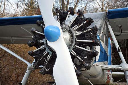 detail view, aircraft engine