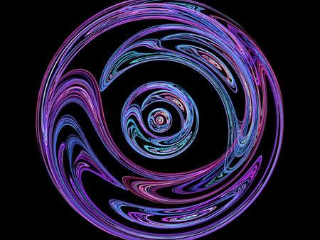 meditation ball and nice fractal