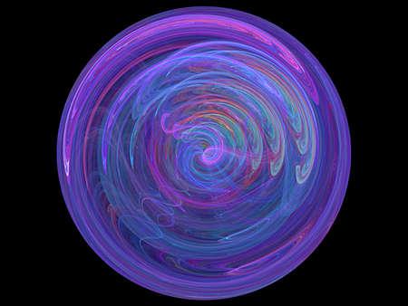 blue globe and cosmos Standard-Bild