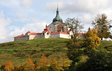 monastery , city Zdar nad Sazavou, Czech republic, Europe