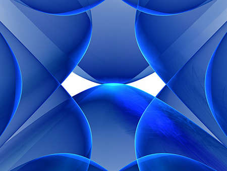 blue background and fractal