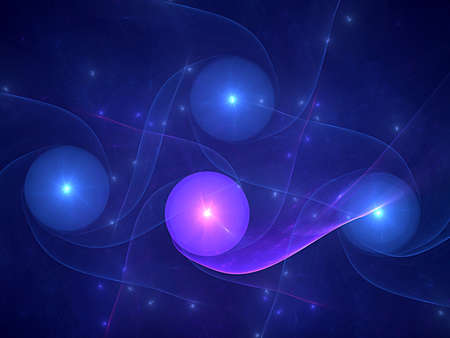 blue and nice fractal
