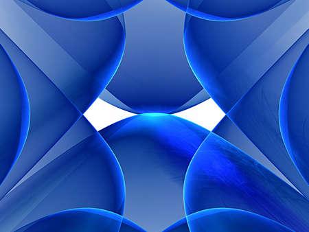 blue nice fractal