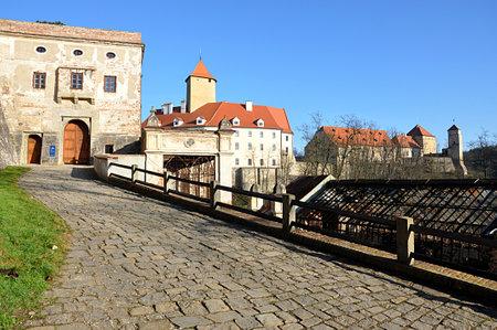 old castle Veveri, Czech republic, Europe