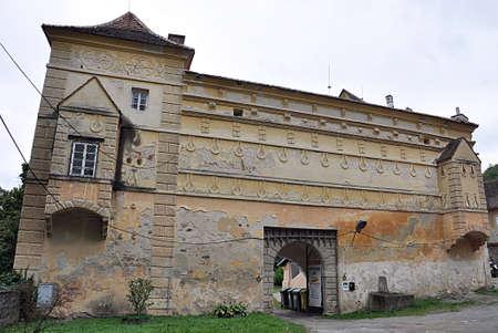 castle Racice, Czech republic, Europe