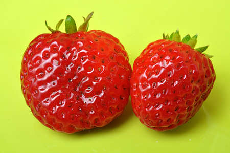 red fruits strawberries