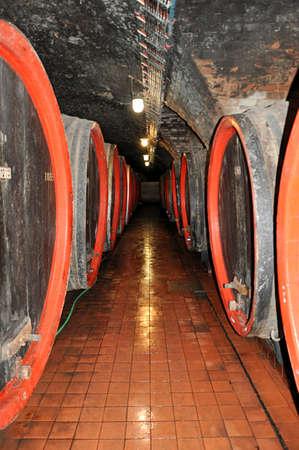 old wine cellar