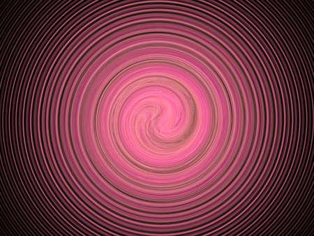 violet color spiral, fractal Standard-Bild