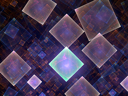 nice cubes and fractal