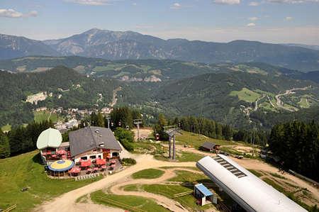 mountain Alps and Semmering, Austria, Europe Standard-Bild