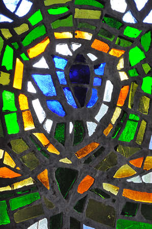 color glass mosaic Standard-Bild