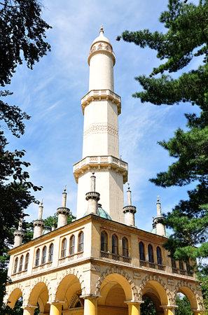 minaret Lednice, Czech republic, Europe Standard-Bild
