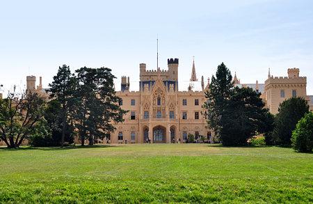 castle Lednice, Czech republic, Europe Editorial