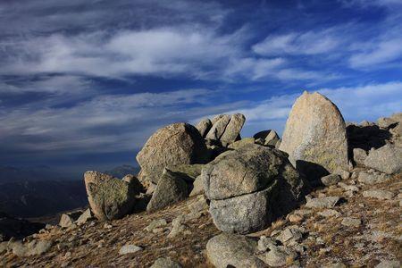 corse: Corsica mountains, GR20 trail, Corse, France
