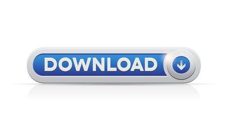 Download-knop web design element Stockfoto - 12966647