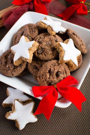 Chrtistmas cookies Stock Photo