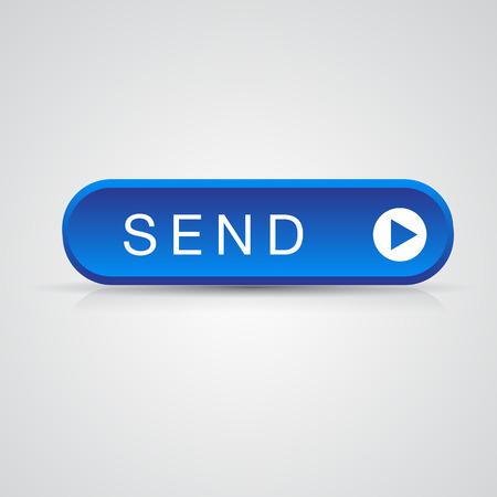 blue send: Blue send button