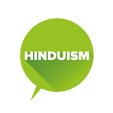 hinduism: Hinduism sign Illustration