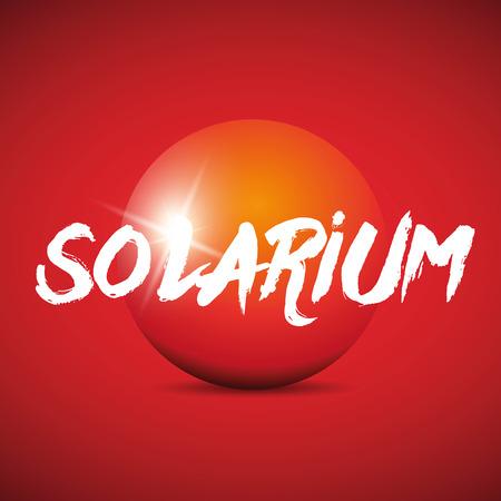 solarium: Solarium sign