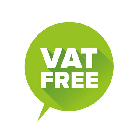vat: Vat free label