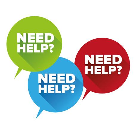 help wanted sign: �Necesitas ayuda conjunto Dise�o plano Vectores