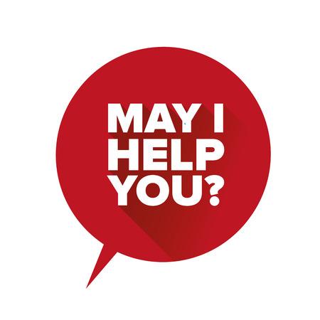 May I help you label Stok Fotoğraf - 37055164