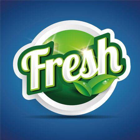 preservatives: etiqueta de los alimentos frescos, insignia o sello