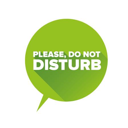 소요: Do Not Disturb label