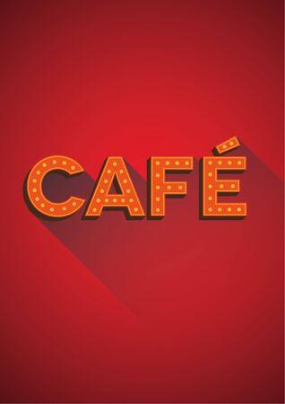 cappucino: Cafe vector sign