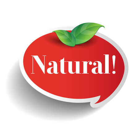 inspected: Natural food or product label