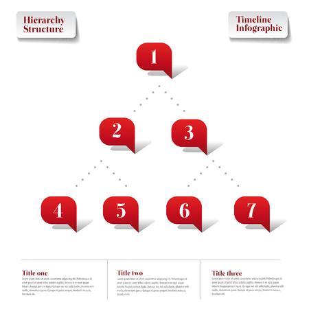 jerarquia: Estructura Jerarqu�a plantilla Infograf�a informe l�nea de tiempo