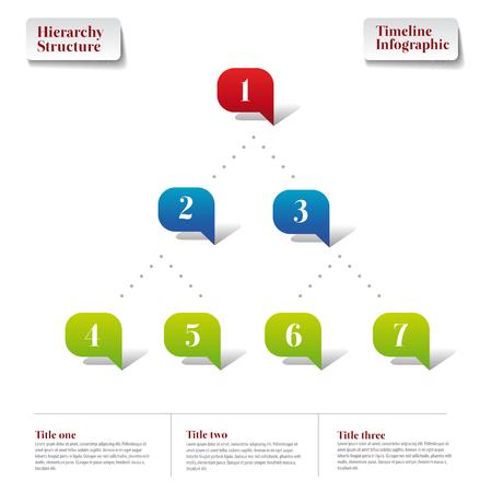 jerarqu�a: Estructura Jerarqu�a plantilla Infograf�a informe l�nea de tiempo