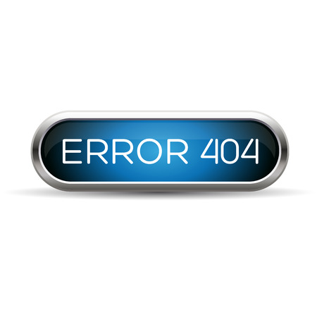 ooops: Error 404 web blue button