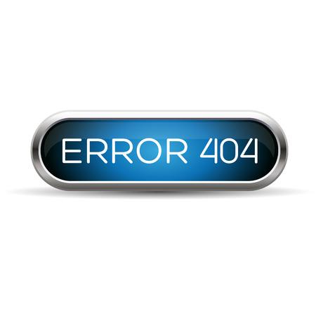 ooops: Error 404 web blue button