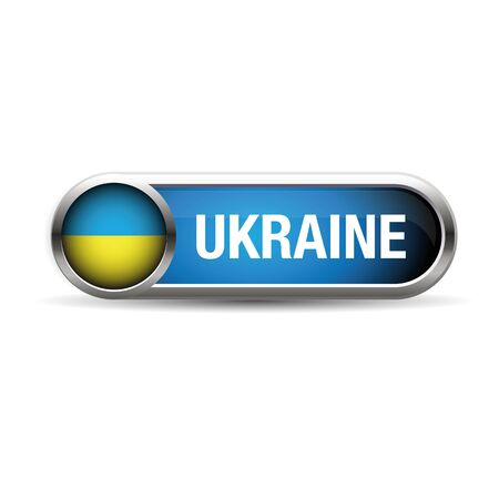 ukraine flag: Ukraine flag vector Illustration