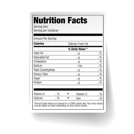facts: Nutrition Facts Food Label