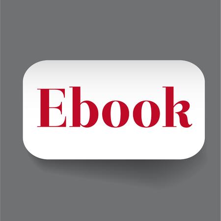icona: Ebook label vector