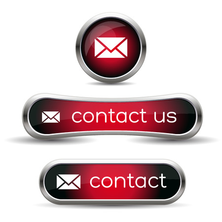 contact us icon: Contact us icon Illustration