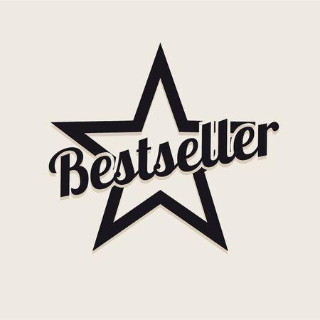 Bestseller star retro Banco de Imagens - 37289426