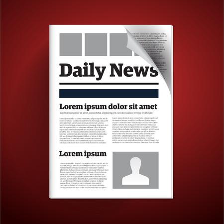 brainwash: Daily newspaper Illustration