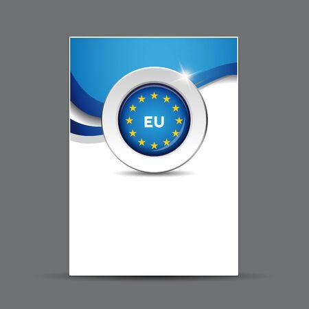 flag button: EU flag button