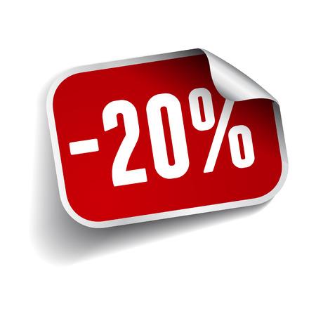 sellout: Sale percents label. Vector. Illustration