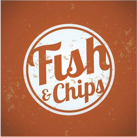fish and chips: british fast-food - fish and chips