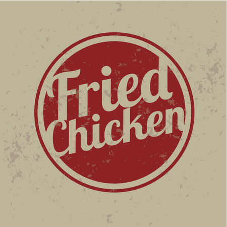 Classic Style Fried Chicken Stamps